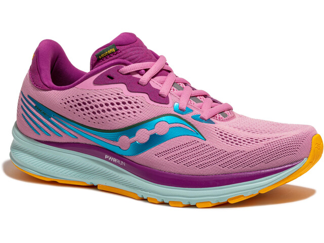saucony Ride 14 Shoes Women future pink